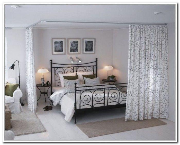 Ekne Room Divider Gray White