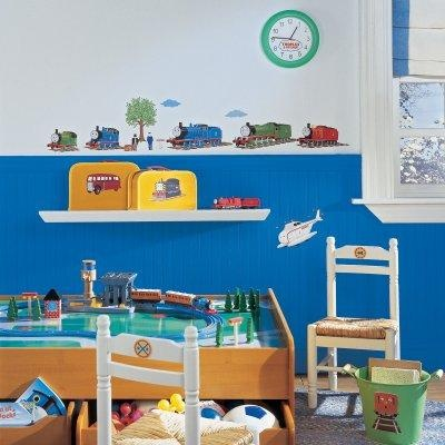 Thomas The Train Peel And Stick Appliques For Boys Bedroom
