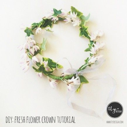 Welcome Spring! 7 Official Ways to mark the Spring Equinox.: Flower Crowns, Diy'S, Fresh Flowers, Flowercrown, Floral Crowns, Flower Crown Tutorial, Diy Flower Crown