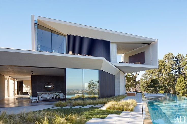 Tour Director Michael Bay's Modern Three-Story Home in California Photos | Architectural Digest