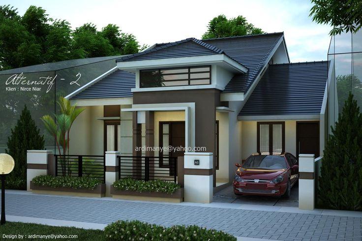 gambar depan rumah modern