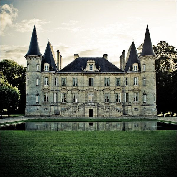 Chateau Latour - wedding location...you know in case I become a millionaire.
