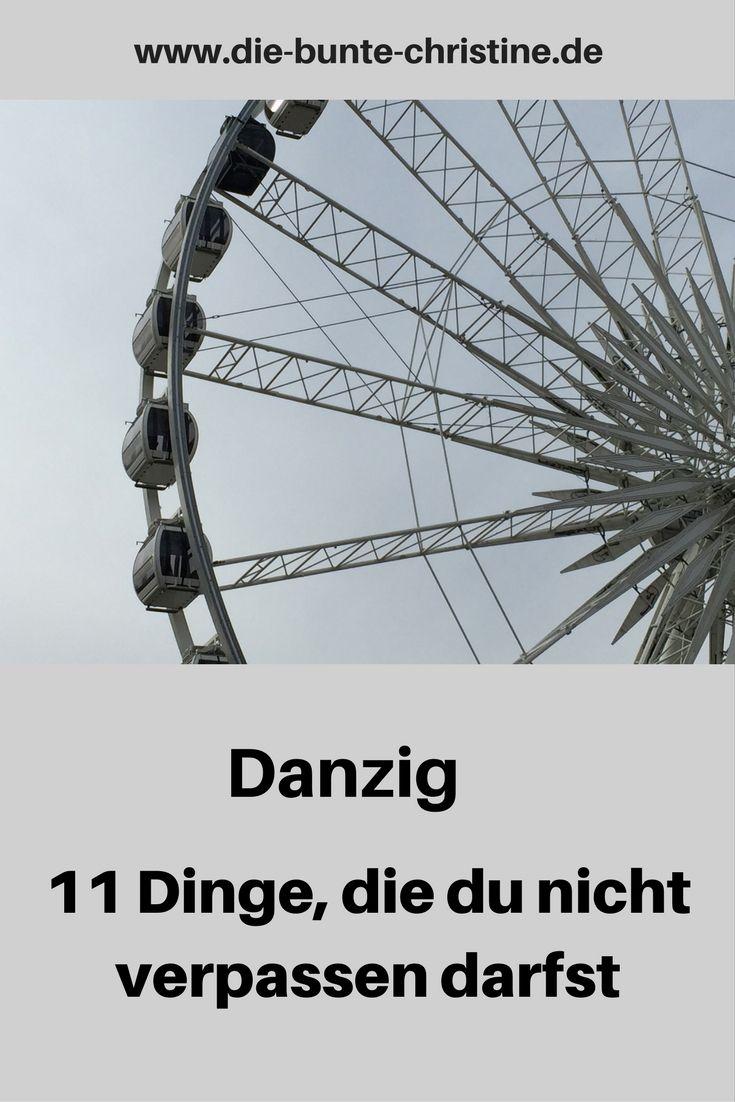Danzig in Polen: 11 Dinge, die du nicht verpassen darfst
