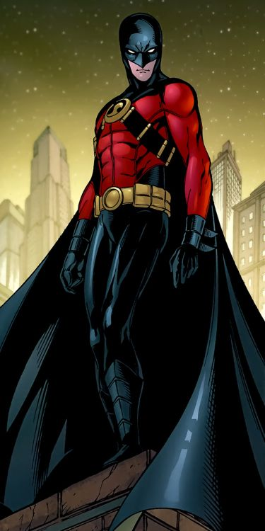 Red Robin by Marcus To   DC Characters & Artists   Robin ...