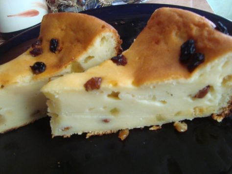 prajitura stafide si iaurt