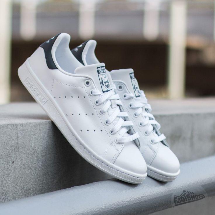 adidas Stan Smith Running White/New Navy - Footshop