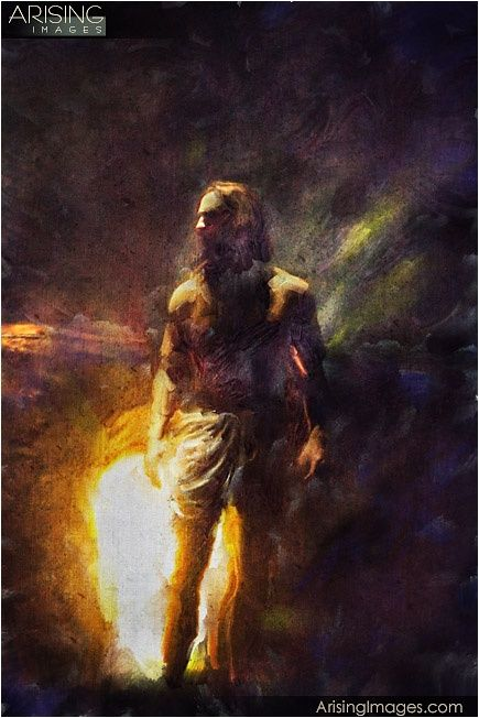 He is Risen! wow I love this depiction! ! ! !