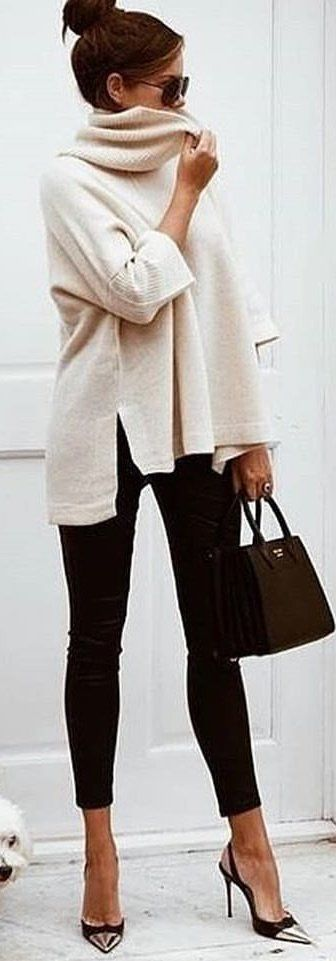 How to look chic while staying warm this  winter...