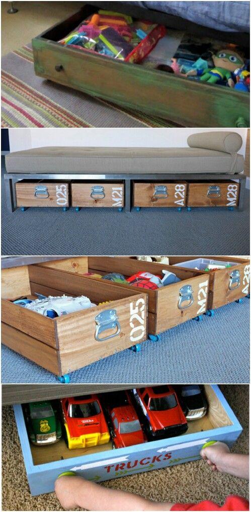 1000+ ideas about Under Bed Storage on Pinterest   Storage ...