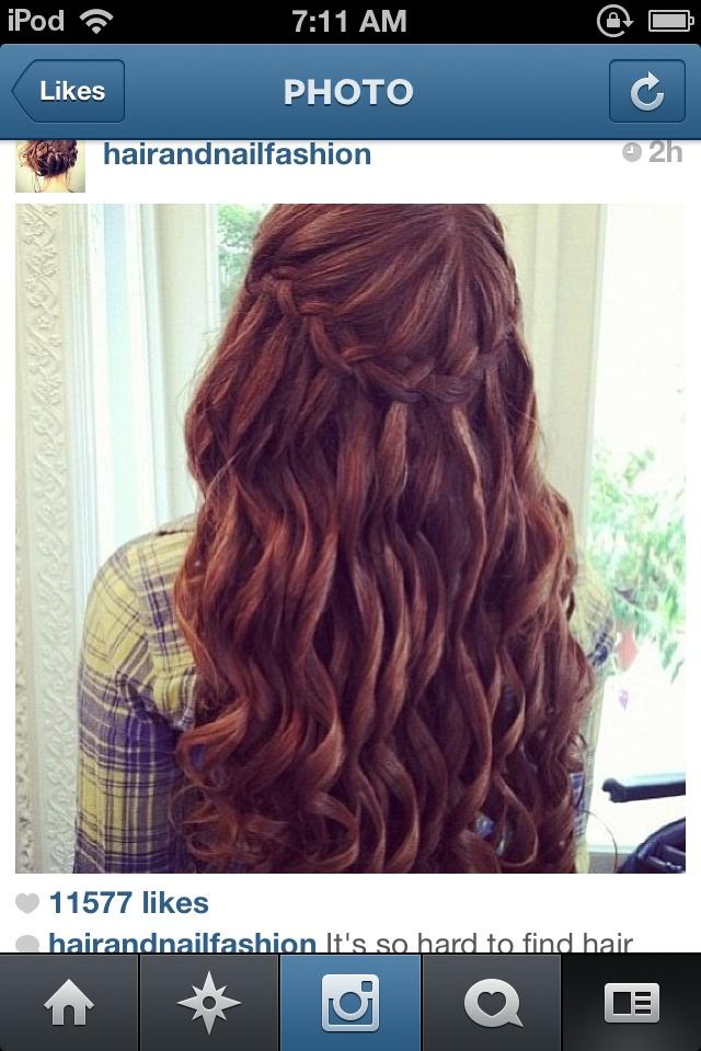 Grad hair <3