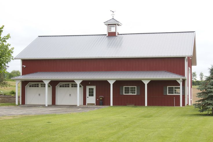 110 best barn images on pinterest ceiling beadboard for Morton building with basement