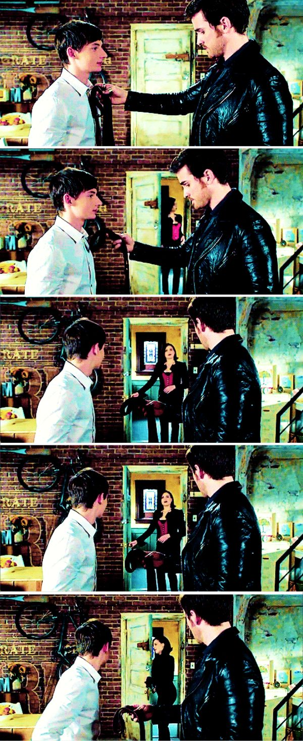 "Henry, Killian and The Evil Queen - 6 * 8 ""I'll be your mirror"""