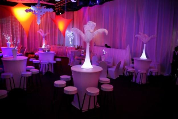 Reception Table Ideas Cocktail Party Decor Cocktail
