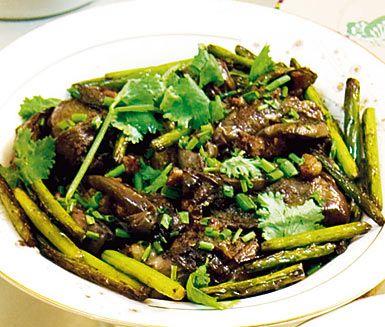Recept: Stekt fläsk i mörk sojasås
