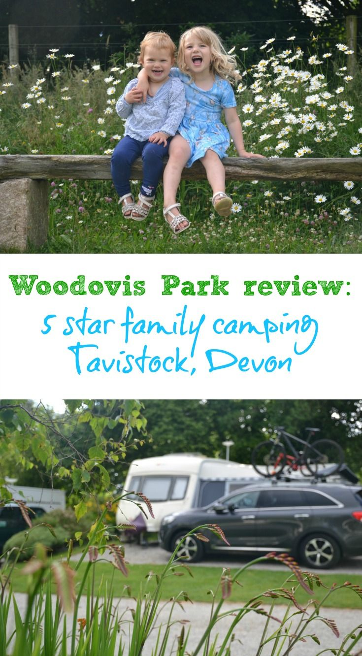 A review of a caravan break at Woodovis Park - an award-winning campsite near Tavistock, Devon, with 5-star facilities and lots of outdoor family activities. Woodovis is on the edge of the Tamar Valley, which is a World Heritage Site.