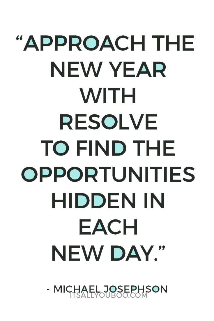 40 Inspirational New Year\'s Resolution Quotes | Mental Health ...