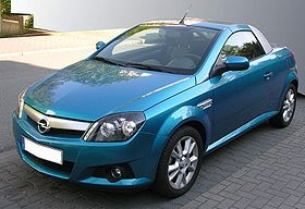 The Opel Tigra name has been applied to two different cars engineered and produced by the German automaker Opel, both based on different iterations of the Corsa supermini, the first built in Spain, the second in France. The first Tigra was a small 2+2 cou