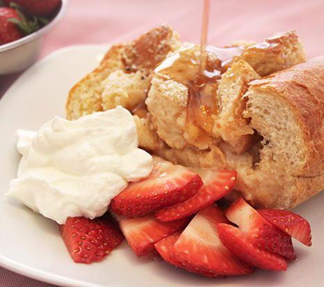 Baked French Toast Boat (food Mamma)