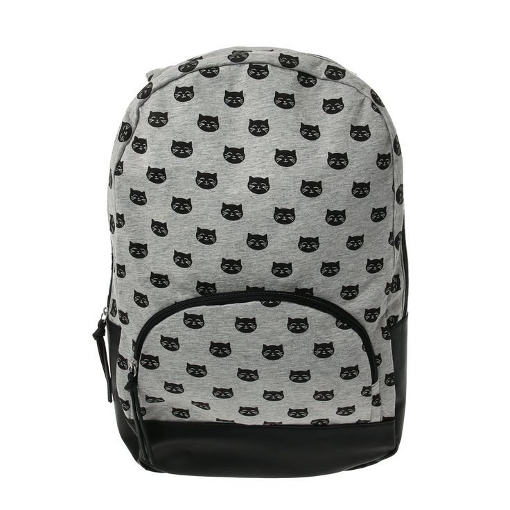 Katy Perry Black Cat Hooded Backpack