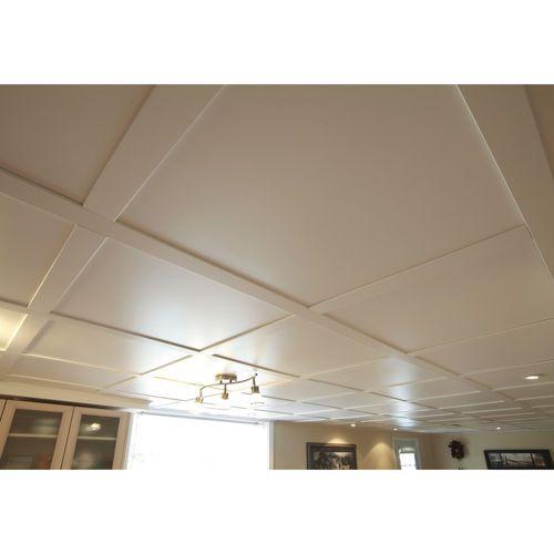 Snapclip – Plafond suspendu blanc pur mat