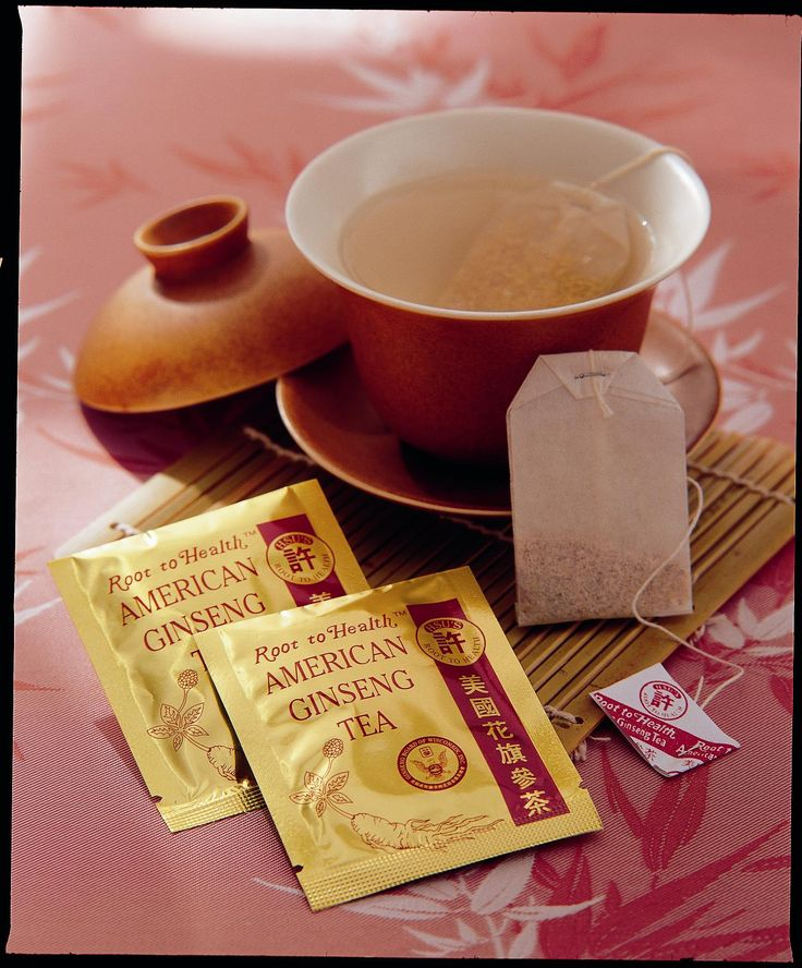 American Cultivated Ginseng Tea One Bag Per Day Ginsenergy