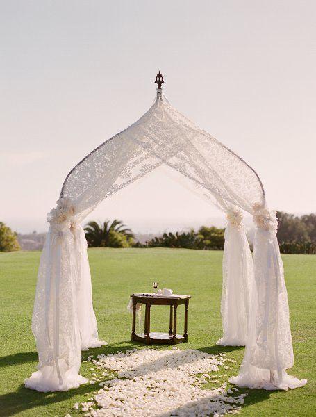 Exquisite Draping #CeremonyDecor I XOXO BRIDE I http://www.weddingwire.com/biz/xoxo-bride-ojai/portfolio/be70d40cfbc4d9c4.html?page=6&subtab=album&albumId=df48cdcb8e84ac27#vendor-storefront-content