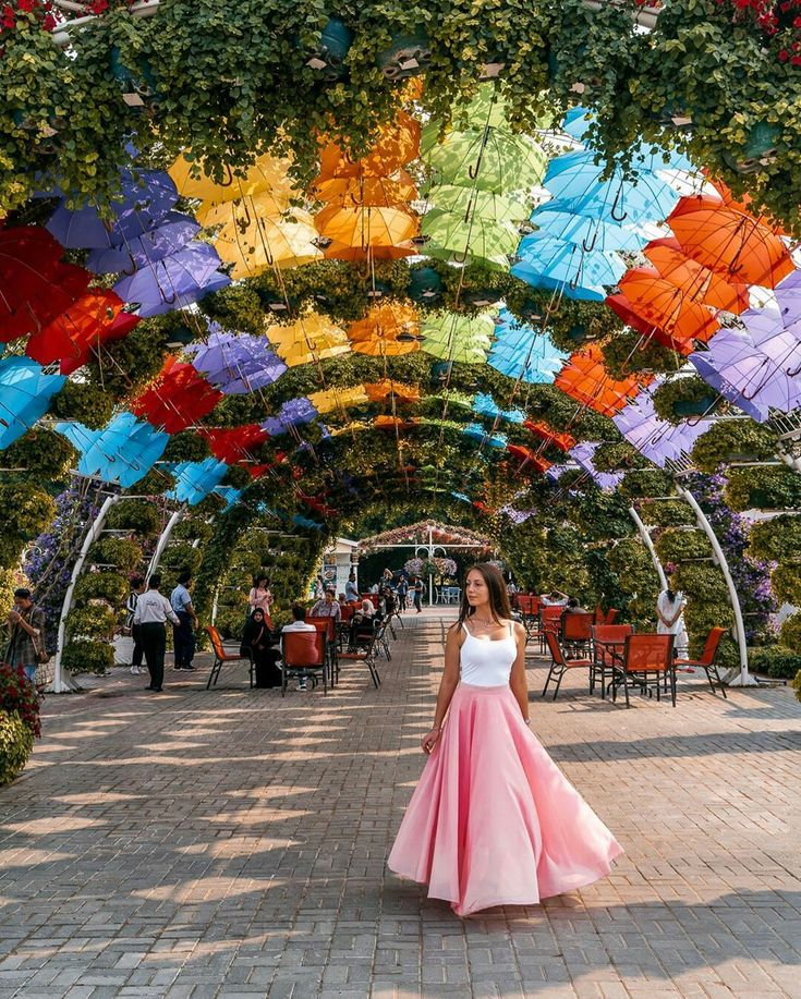 Dubai Miracle Garden in 2020 Instagrammable places