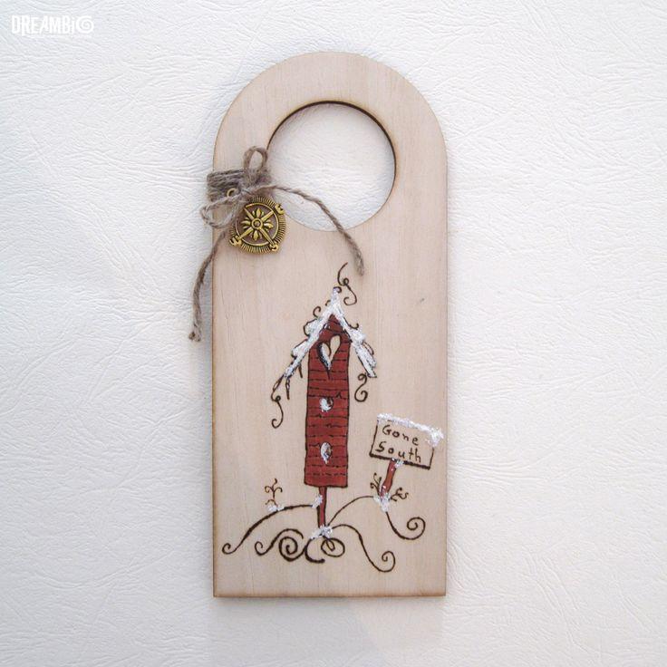 Christmas ornament, Christmas door hanger, Christmas decorations, Christmas gift, holiday gift, Wood burned , Santa's decor, holiday decor by DreamBigHandmade on Etsy