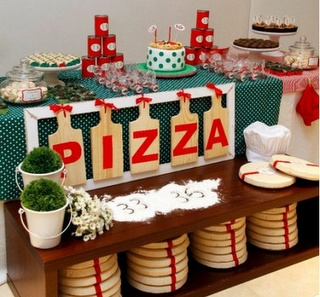 Kid's pizza party inspiration/ideas ~ Party Frosting