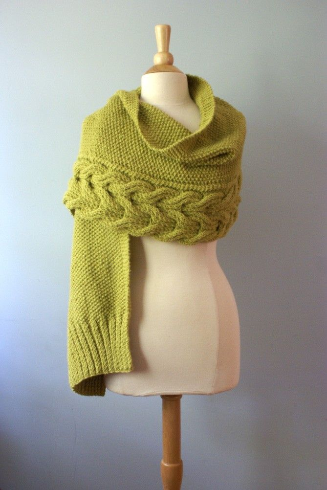 Aspen Wrap Knitting Pattern Instant PDF Download. $8.00, via Etsy.