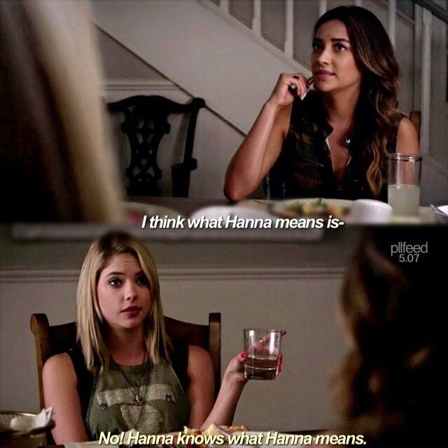 "Pretty Little Liars S5 Ep7 ""The Silence of E. Lamb"" - Hanna and Emily"