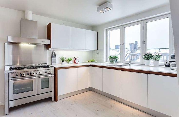 Cucine bianche - Cucina bianca moderna