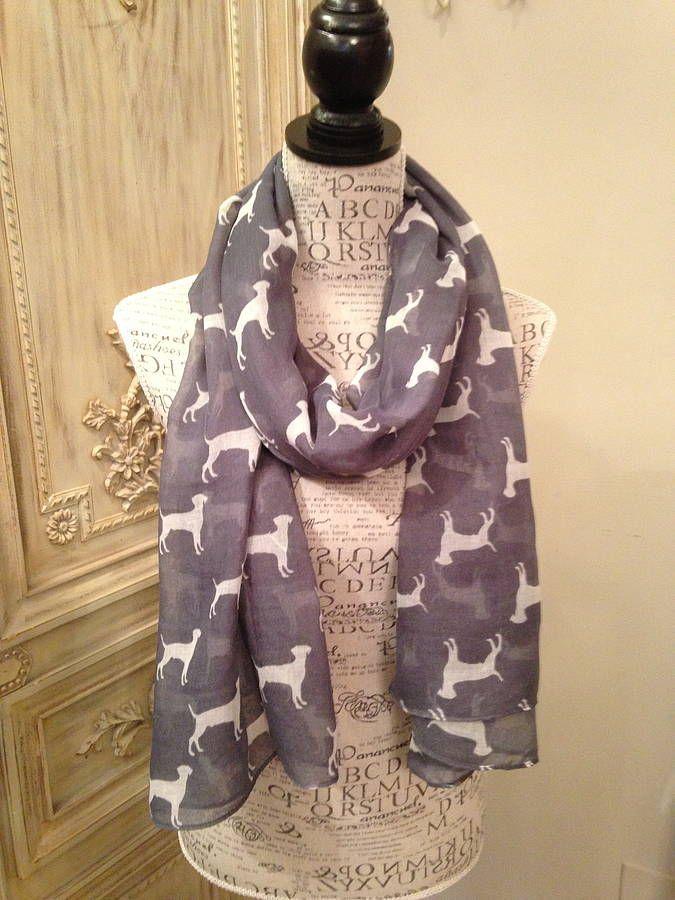 labrador scarf by french grey interiors | notonthehighstreet.com