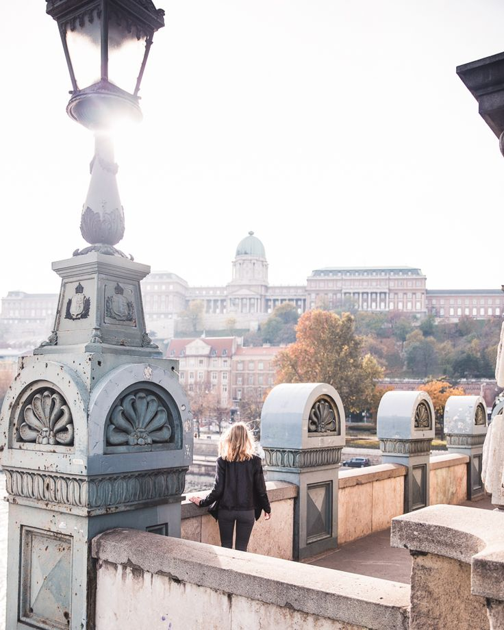 View of Buda Castle from Széchenyi Chain Bridge in Budapest - Budapest Travel Guide