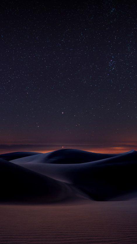 Desert Night Space View Iphone Wallpaper Free Getintopik In 2020 Mystic Wallpaper Iphone Wallpaper Travel Desert Photography