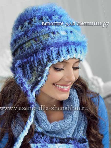 Вязание шапки крючком 2015-2016