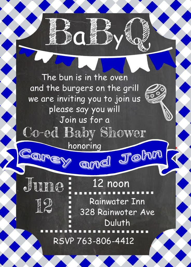 BaByQ Baby Shower Invitations Summer 2015