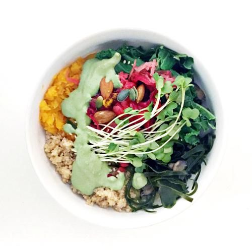 The Macrobiotic Bowl - Cafe Gratitude copycat recipe!