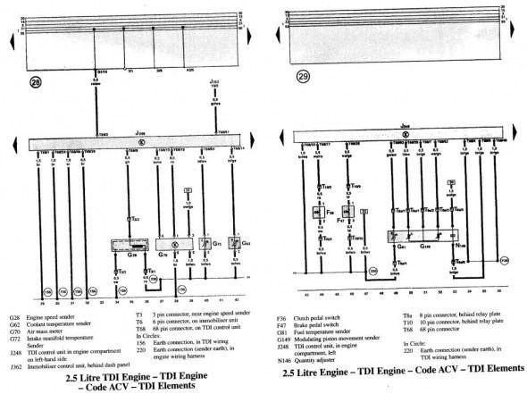 Vw T4 Wiring Diagram Di 2020