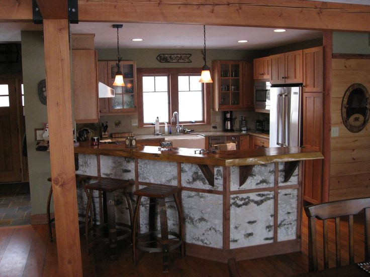 Adirondack Style U2013 The Origin Of The Great Camp. Virtual Kitchen DesignerRustic  ...