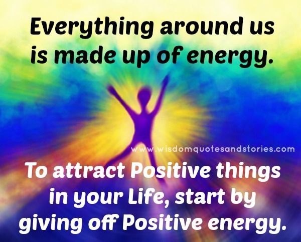 Sending Positive Energy Quotes