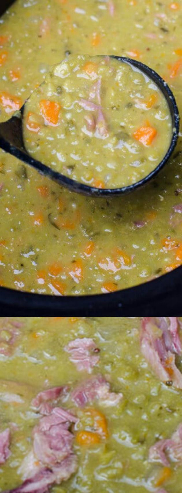 This Slow Cooker Split Pea Soup from Valerie's Kitchen is a fall favorite of ours! With the holidays coming up this recipe is a great way to make use of that leftover bone from your holiday ham.