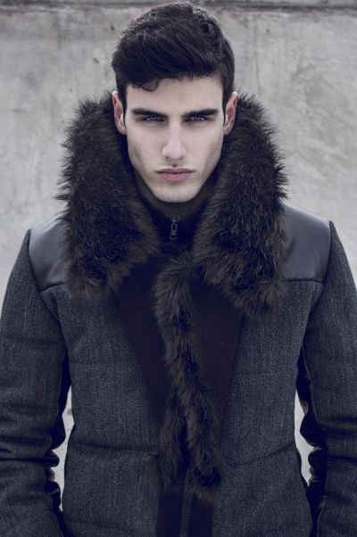 Alexandre Schiffer by Iberico Alex  Can I have the dude inside the coat too? YUM!