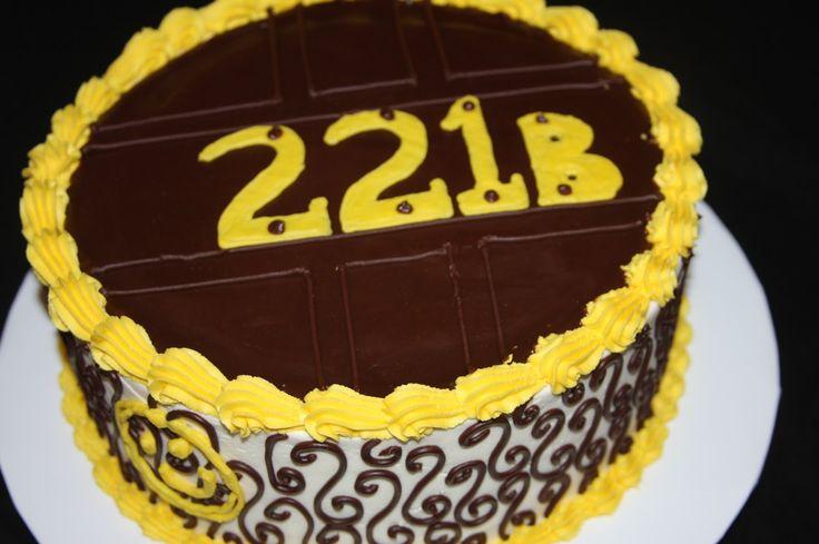 Sherlock Cake Cake Ideas and Designs