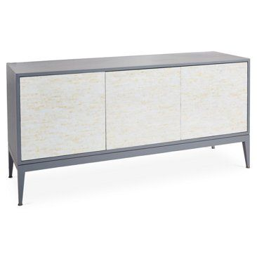 """Check out this item at One Kings Lane! Milano 60"""" Sideboard, Gray"""