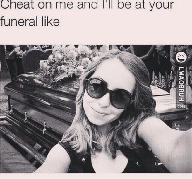 Crazy girlfriends be like ...