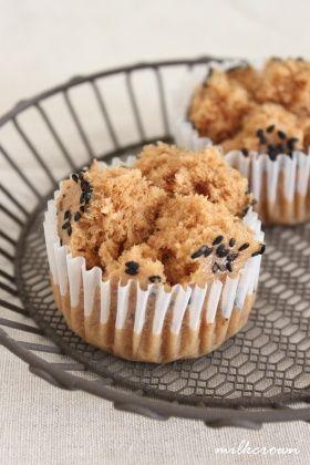 「ふわふわ黒糖蒸しパン」milkcrown | お菓子・パンのレシピや作り方【corecle*コレクル】