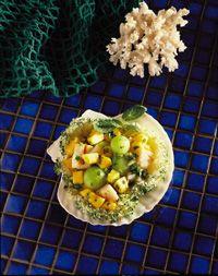 Grilled Scallop Ceviche | Recipe | Scallop Ceviche, Grilled Scallops ...
