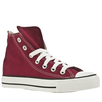 Women's Burgundy Converse Cons All Star Hi at Schuh