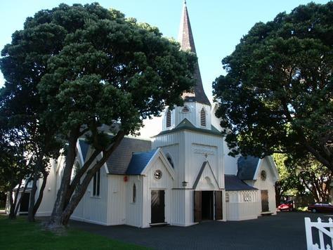 old St Paul's church, Wellington, New Zealand